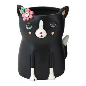 Michelle Allen: Baby Black Cat Planter
