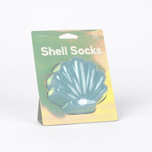 Doiy: Shell Socks - Blue