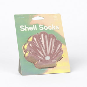 Doiy: Shell Socks Pink