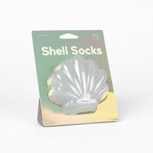Doiy: Shell Socks - Silver