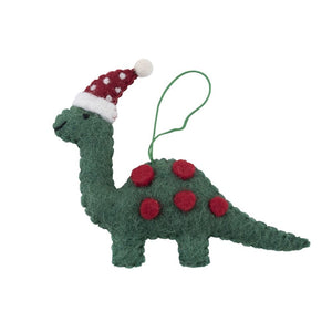 Christmas Decoration Ornament Dinosaur Hat