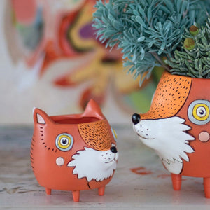 Michelle Allen: Planter Baby Fox