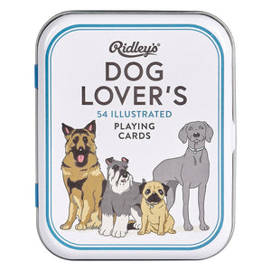 Ridley's: Dog Lovers Playing Cards White