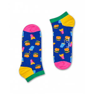 Hamburger Low Sock Blue