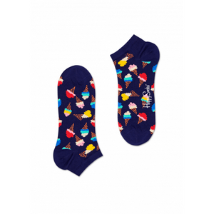 Ice Cream Low Sock Navy Multi