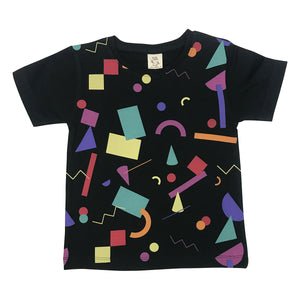 Fetti Pop Charcoal Kids Tee