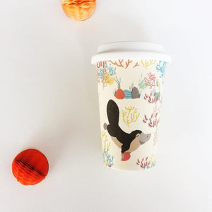 Bamboo Travel Cup - Platypus