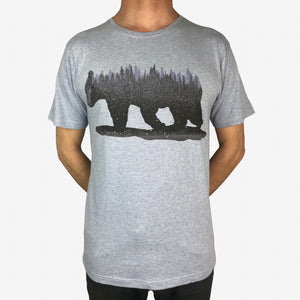 NatureBear Blue Marle Mens Tee