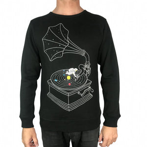 Galactic DJs Charcoal Jumper