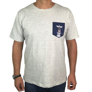 Friends from the Bush Mens Pocket Tee