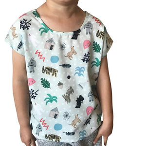 Min Pin Winter Kids Top