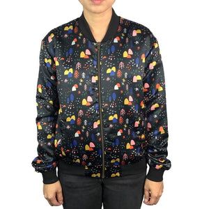 Women's Bomber Jacket: Nights