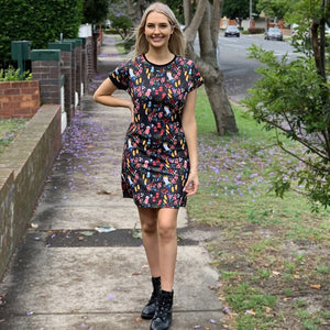 Bush Parrots Womens Dress