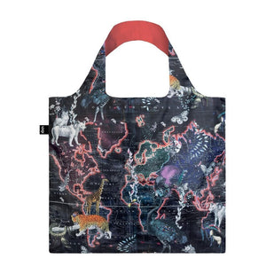 Loqi: Shopping Bag World Map