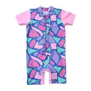 Sunsuit - Short Sleeve