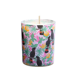 Candle: Black Cockatoos