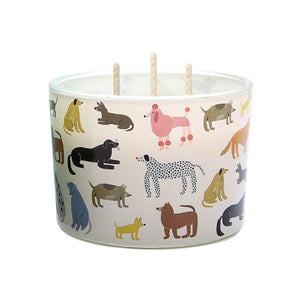 Candle Tri-Wick: Hot Dogs