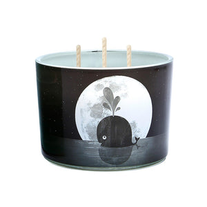 Candle Tri-Wick:  Whale Moon