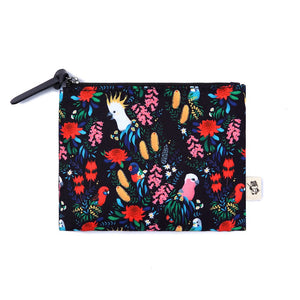 Coin Purse: Bush Parrots