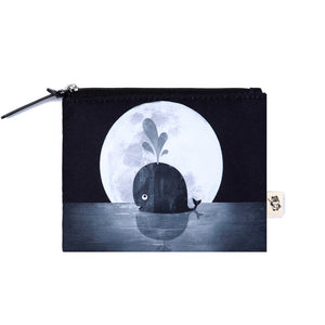 Coin Purse: Whale Moon