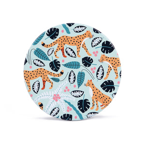Ceramic Coaster: Leopards Mint