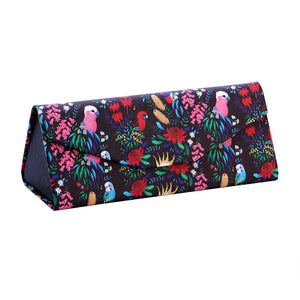 Glasses Case: Bush Parrots