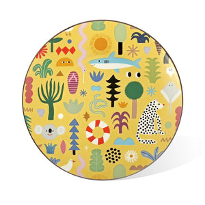Ceramic Plate: Beach Party
