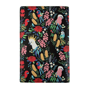 Passport Wallet: Bush Parrots