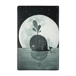 Passport Wallet: Whale Moon