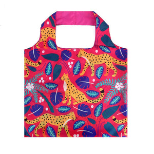 Shopping Bag: Leopards Pink