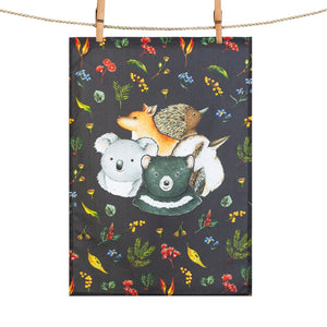 Tea Towel: Gumnut Pals