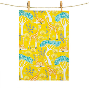 Tea Towel: Giraffes