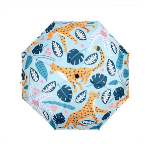 Umbrella: Leopards Mint