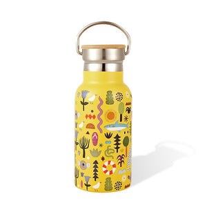 Insulated Water Bottle Thermos Beach Party