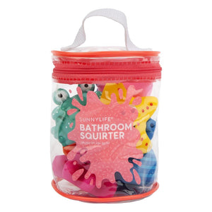 Bath Squirters Under the Sea Set of 6