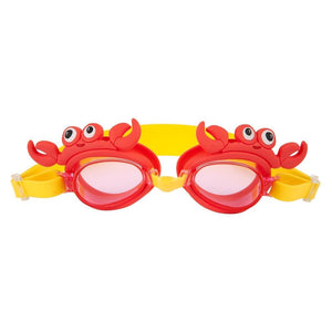 Shaped Swimming Goggles 3-9 Crabby