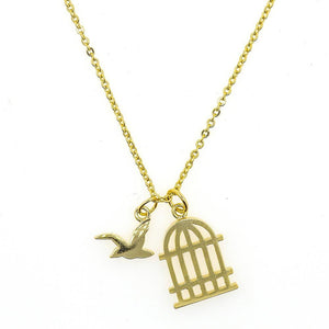 Short Story: Necklace Gold Bird Cage