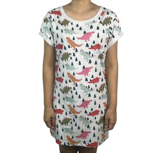 Dinos Grey Marle Dress