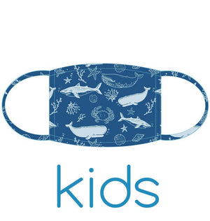 Kids Face Mask: Sea Creatures