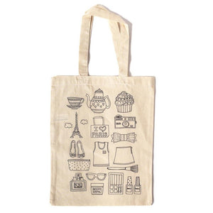 Tote Bag Individual Paris