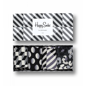 Seasonal Black & White Gift Box