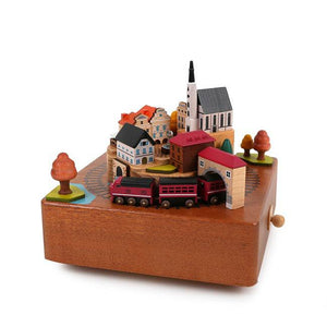 Music Box City Autumn Train