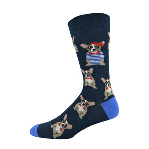 Bamboozld: Men's Frenchie Socks