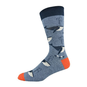 Bamboozld: Men's Whale of a Time Socks