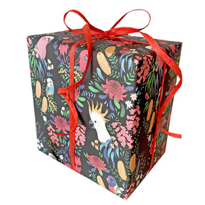 Gift Wrapping Bush Parrots