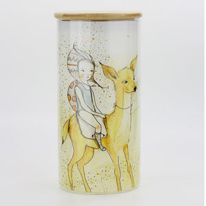 Canister Clear: Forest Girl L