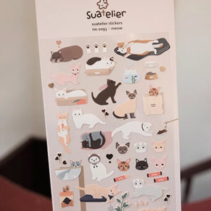 Stickers: Meow Cats and Kittens
