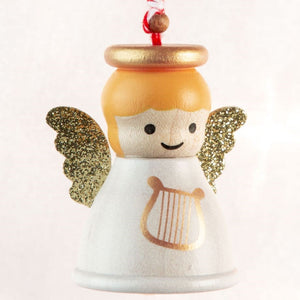 Wooderful Life: Bell Ornament Christmas Angel