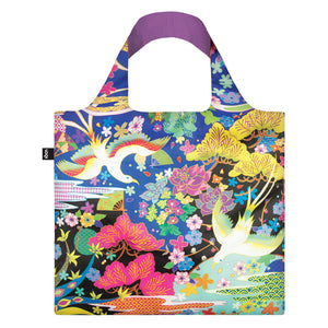 Loqi: Dancing Birds Shopping Bag