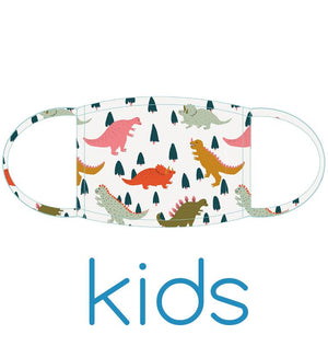 Kids Face Mask: Dinos